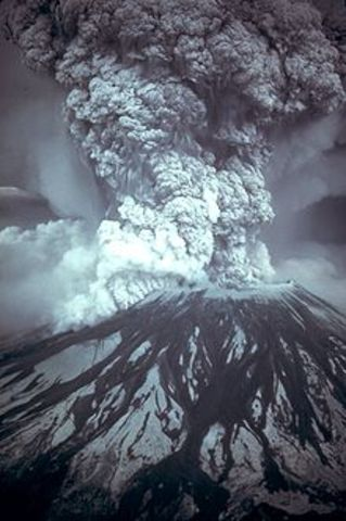 Mt Saint Helen's Eruption