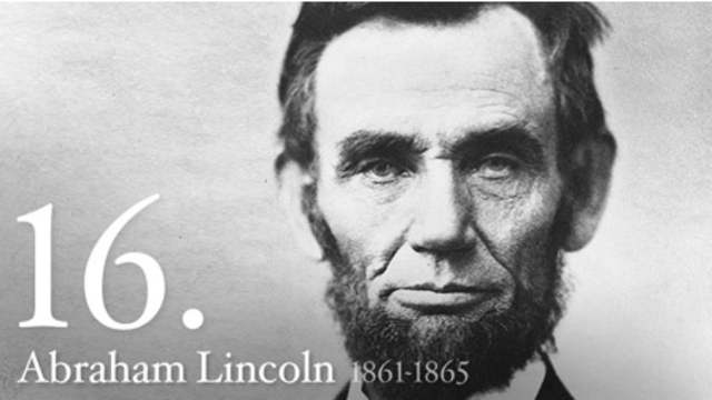 Abraham Lincoln is Formally a U.S. President