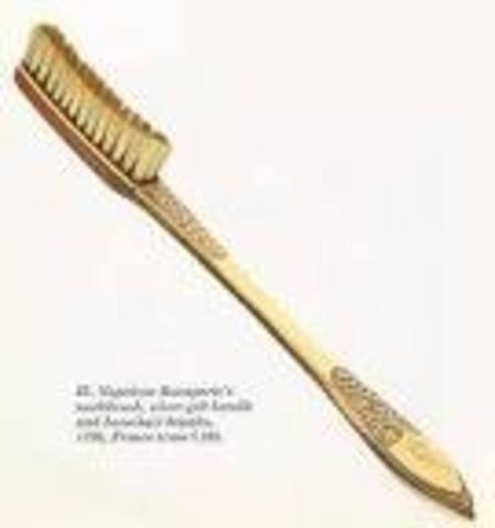 The First Toothbrush