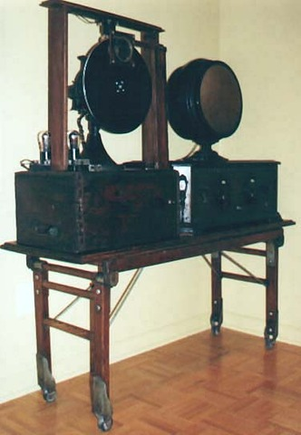 The First Mechanical TV