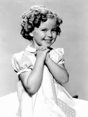 Shirley Temple was born