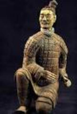 Making of the terracotta army