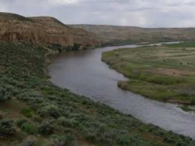 Tamsen Donner writes that they are now at the Platte River, 200 miles (320 km) from Fort Laramie