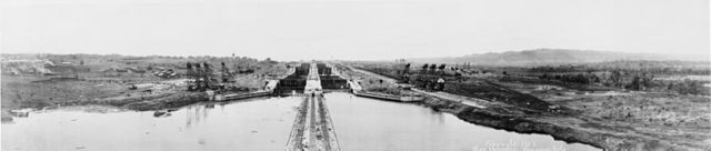 the panama canal opens