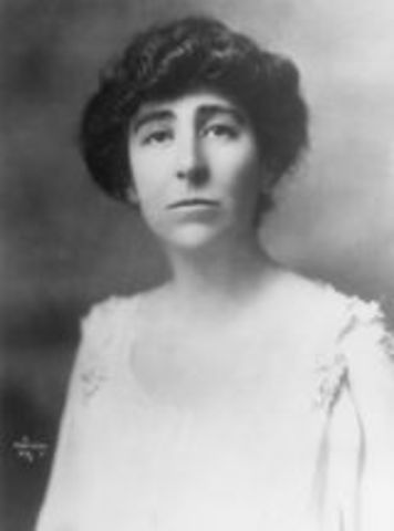 Jeannette Rankin first woman elected to U.S. congress