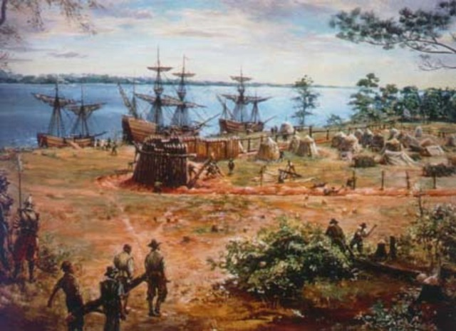Jamestown settlement is founded