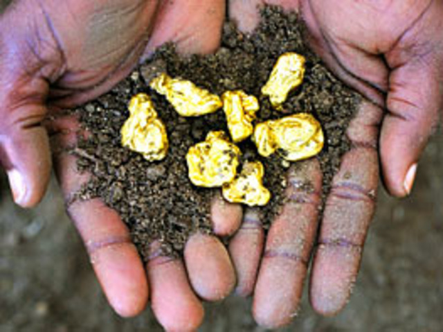 Gold is discovered in Witwatersrand, South Africa