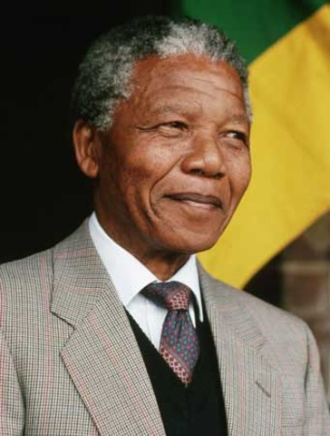 Nelson Mandela is elected President of South Africa