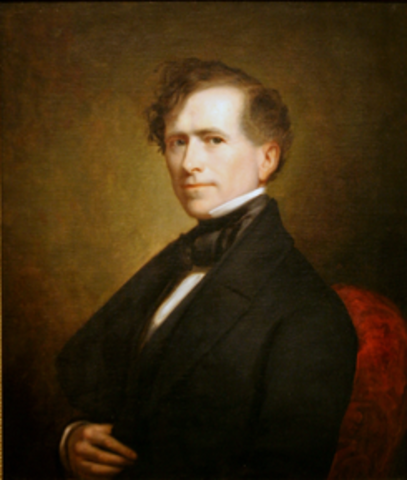 Election of Franklin Pierce as President