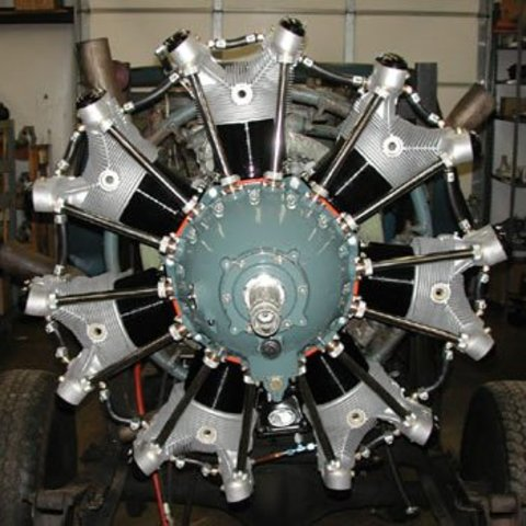 Lightwiegt Aircooled Radial Engines