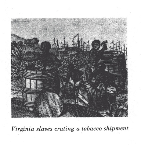 Chesapeake - Free Blacks in the mid-eighteenth century