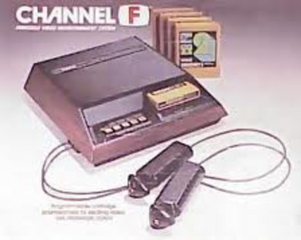 Release of the Fairchild Channel F