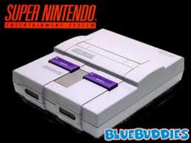 Release of Super Nintendo in U.S. (SNES)