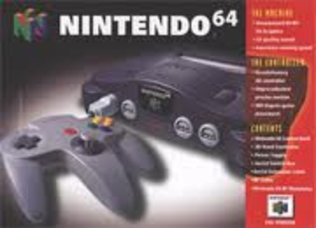 Release of Nintendo 64 in U.S. (N64)