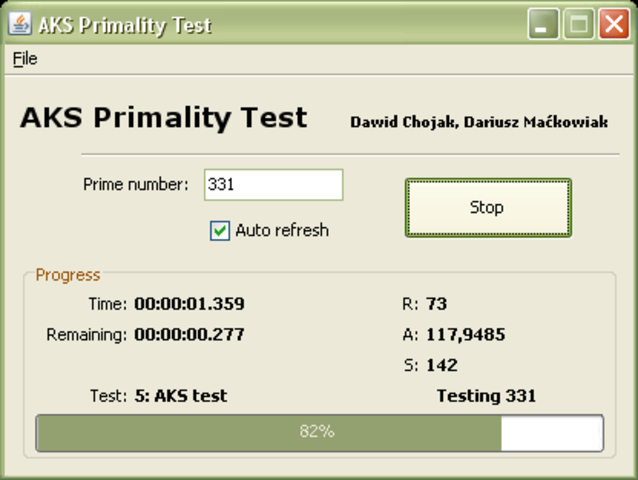aks primality theorem This is a java program to implement miller rabin primality test algorithm miller  rabin primality test is an algorithm which is used to.