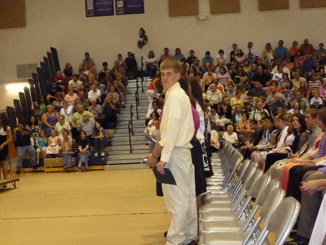My brothers Jr. High graduation