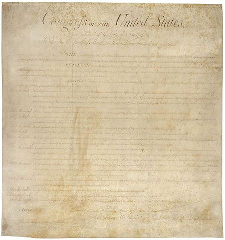 Bill of Rights Ratified
