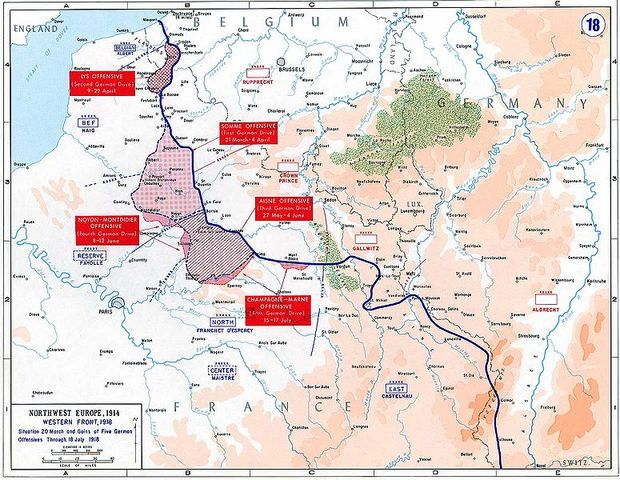 German Spring Offensive of 1918