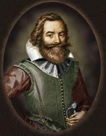 Captain John Smith explorer and founder of Jamestown