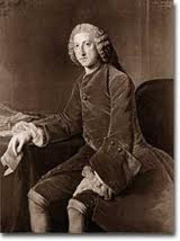 William Pitt becomes Foreign Minister