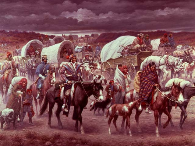 Indian Removal Act (1838 Trial of Tears)