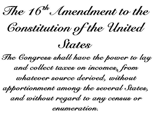 16th Amendment