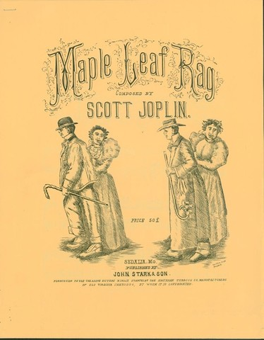 """Maple Leaf Rag"" Scott Joplin"