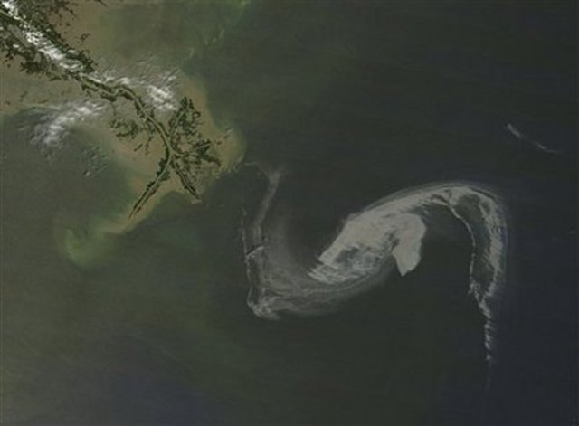 The oil spill in the Gulf