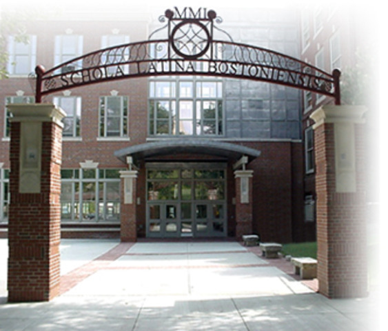 First Public School(Boston Latin School)