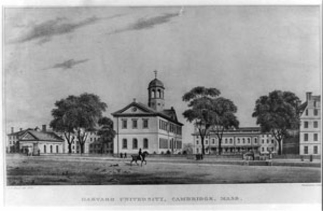 First College - Harvard College, the first institute for higher education in a north American