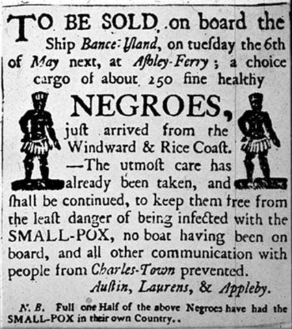 Colonial North America's slave trade begins when the first American slave carrier,Desire, is built and launched in Massachusetts.