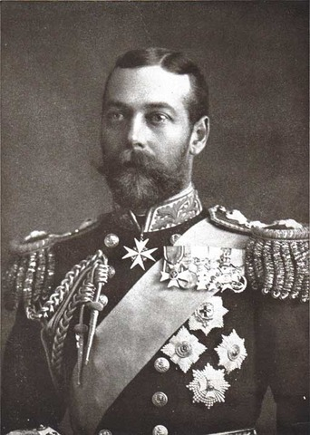 King George V becomes king