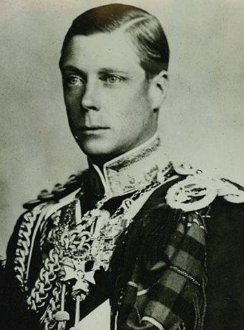 King Edward VIII becomes King