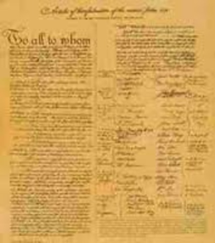 1781 1787 articles of confederation Articles of confederation ought not to prevail in the national legislature, and that an equitable ratio of representation ought to be substituted this was 2ded by mr.
