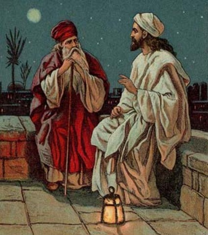 Jesus' speaks to Nicodemus and the Samaritan Woman