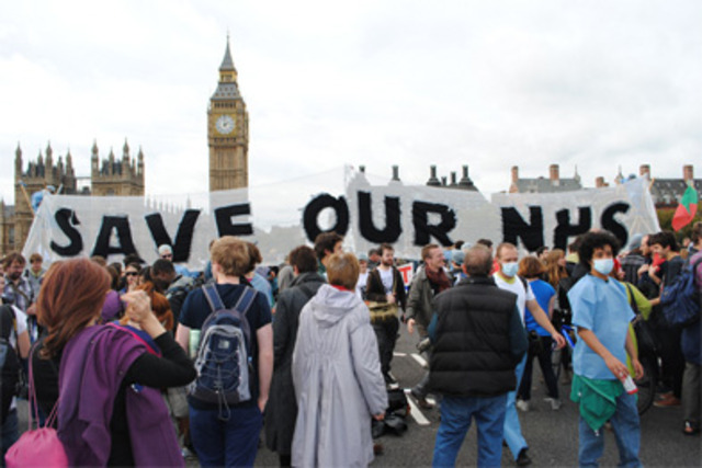 GPs join NHS demonstration