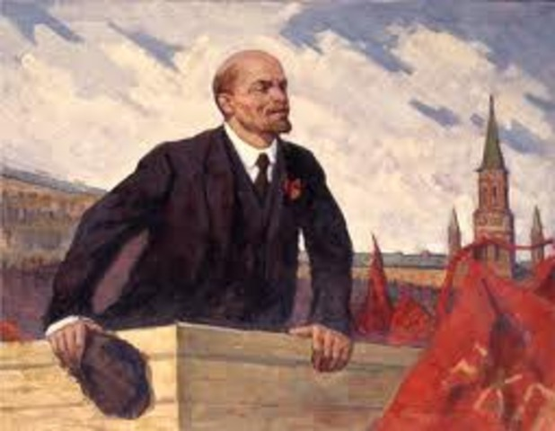 Death of Lenin