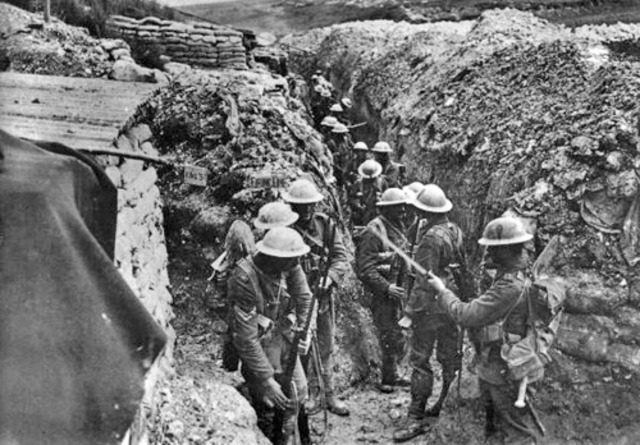 The Battle Of Somme Starts
