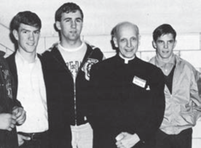 Father Pedro Arrupe S.J. Visits