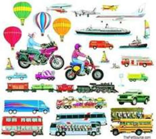 transportation from past to present In this talk about activity, students talk about vehicles from the past and present day.