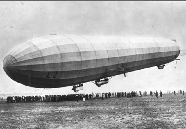 Invention of Zepplins (Past)