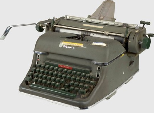 invention of typewriter Today i found out the origin of the qwerty keyboard the first typewriter was introduced to the united states in 1868 by christopher latham sholes his first attempt to build a typing device consisted of a crude and sluggish machine that was far from perfect the design used letters and characters on the.