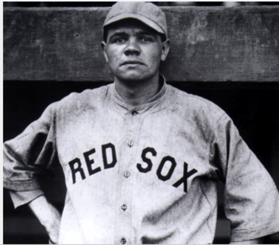 Babe Ruth sold to the Boston Red Sox