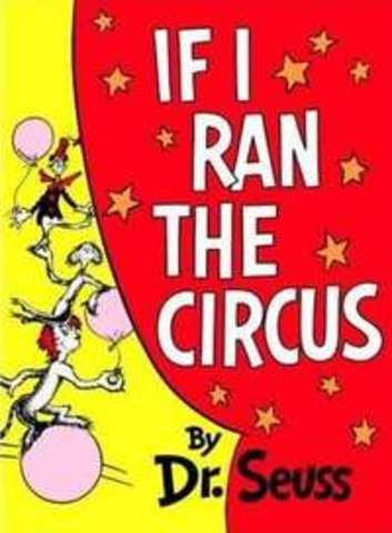 Dr. Seuss If I Ran The Circus