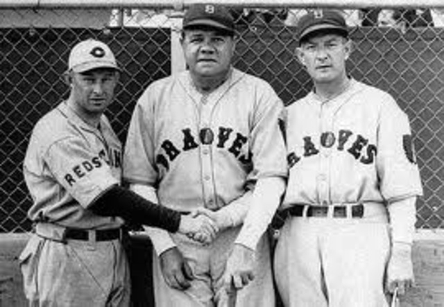 Babe Ruth was sold to the Boston Braves