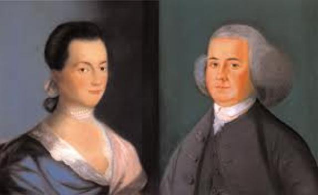 John Adams Marries Abigail Smith