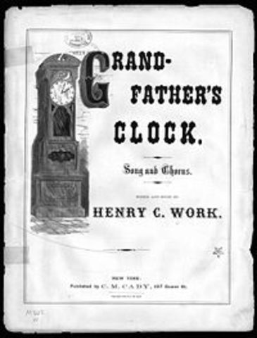 """My Grandfather's Clock"""