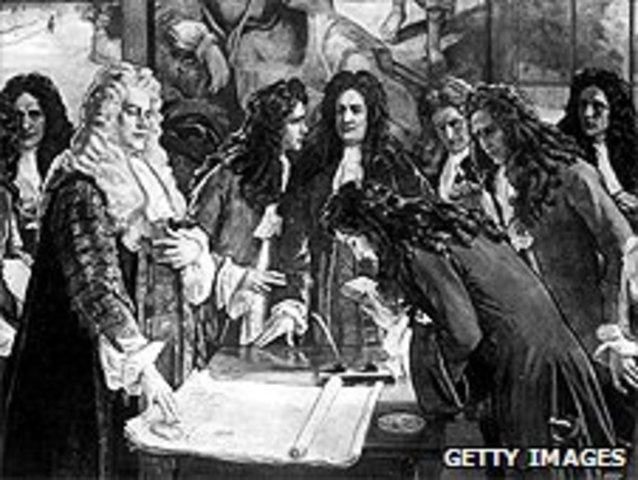 Founding of Bank of England