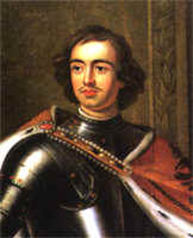 Peter The Great Of Russia Dies