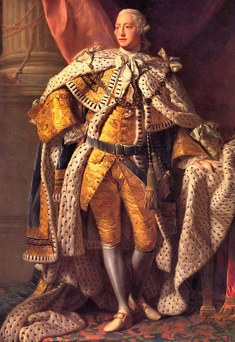 George III becomes king